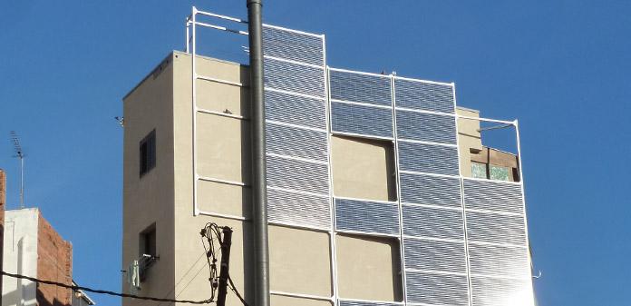 Rehabilitació façana plaça Trinitat