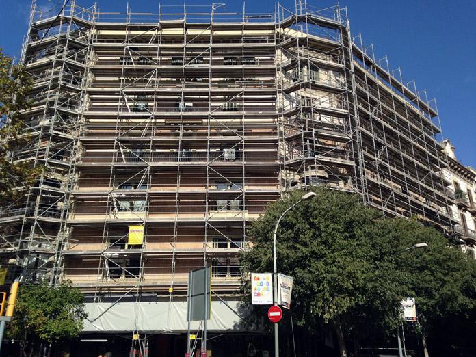 Rehabilitació façana Pg.Gracia 32