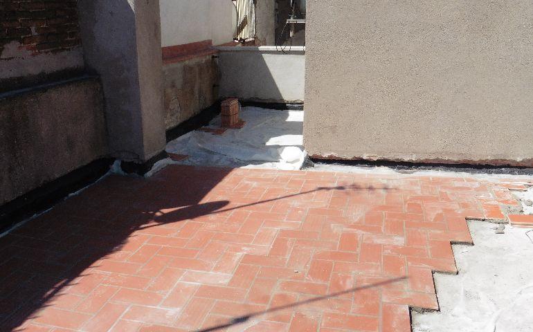 Impermeabilitzacio terrat finca C/Balboa