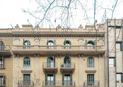 Rehabilitació de façana al C/Mallorca 281