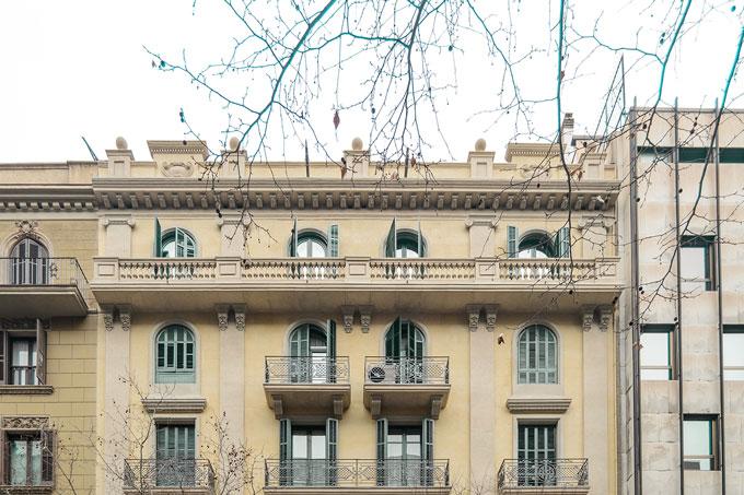 Rehabilitació de façana principal al C/Mallorca 281