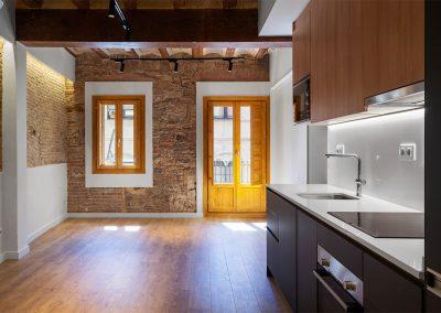 Reforma d'habitatge al C/Sant Pere més baix