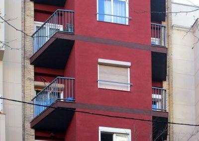 Rehabilitació de façana al C/Indústria