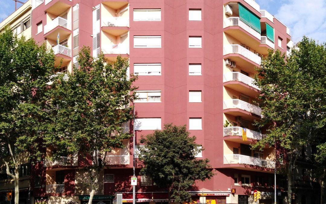 Rehabilitació de façana al C/Sardenya