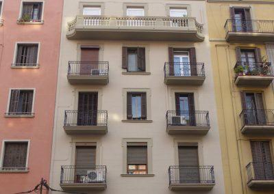 Rehabilitació de façana al C/Aragó 484