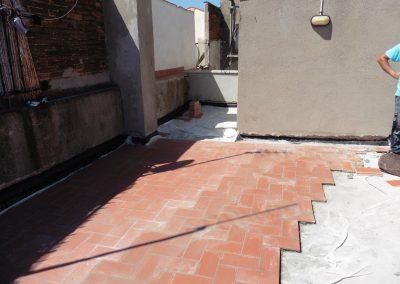 Impermeabilització de terrassa al C/Balboa