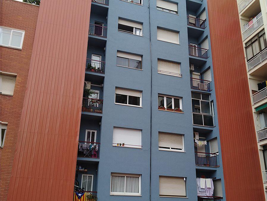 Rehabilitació de façana posterior al C/Dos de Maig